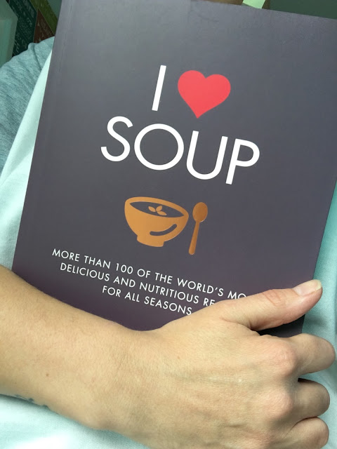 I Love Soup Cookbook Review
