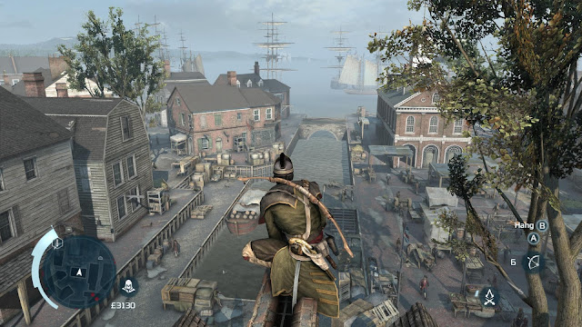 Assassin's Creed III - Xbox360 - Captura 1