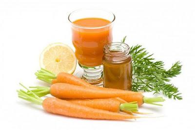 Cách trị nám bằng khoai tây kết hợp cà rốt, dầu oliu và bột nghệ