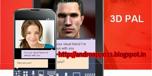 boolywood4u: 3D Pal (3D Siri) Pro 1 0 for Android Free APK