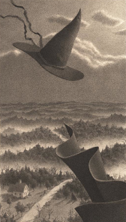 from The Widow's Broom - Chris Van Allsburg, 1992