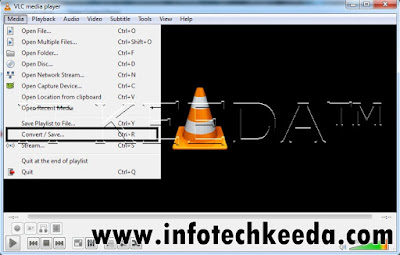 How to convert video from VLC media player