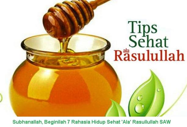 Subhanallah, Beginilah 7 Rahasia Hidup Sehat 'Ala' Rasullullah SAW