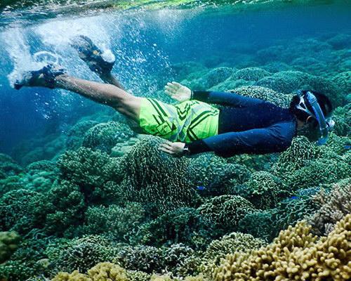 Travel.Tinuku.com Kakara island paradise of snorkeling and diving in Hibualamo land as string of pearls Tobelo islands