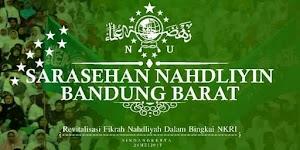 Tanya Jawab Kegiatan Sarasehan Nahdliyyin Bandung Barat
