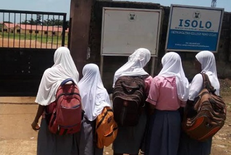 Hijab Isolo Senior Secondary School