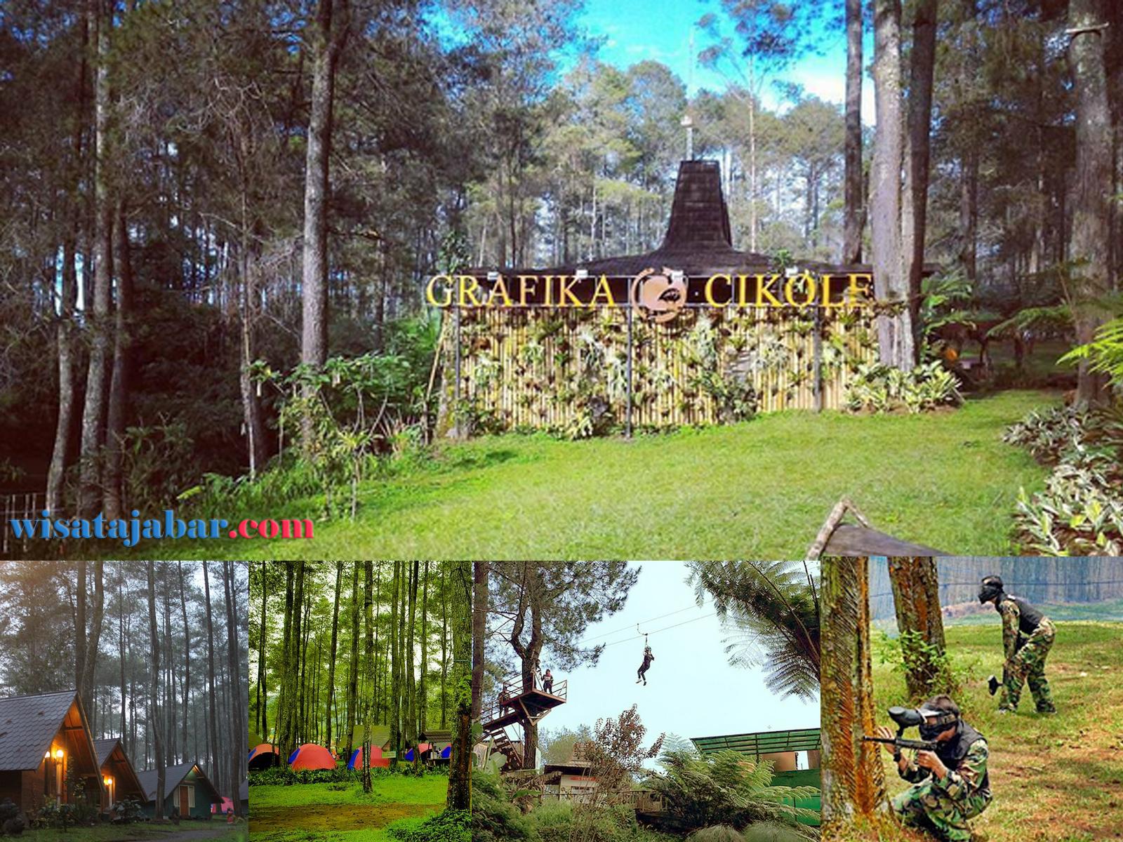 inilah kawasan wisata alam di daerah lembang yang menjadi favorit wisatawan terminal wisata grafika cikole memang menyajikan konsep terpadu