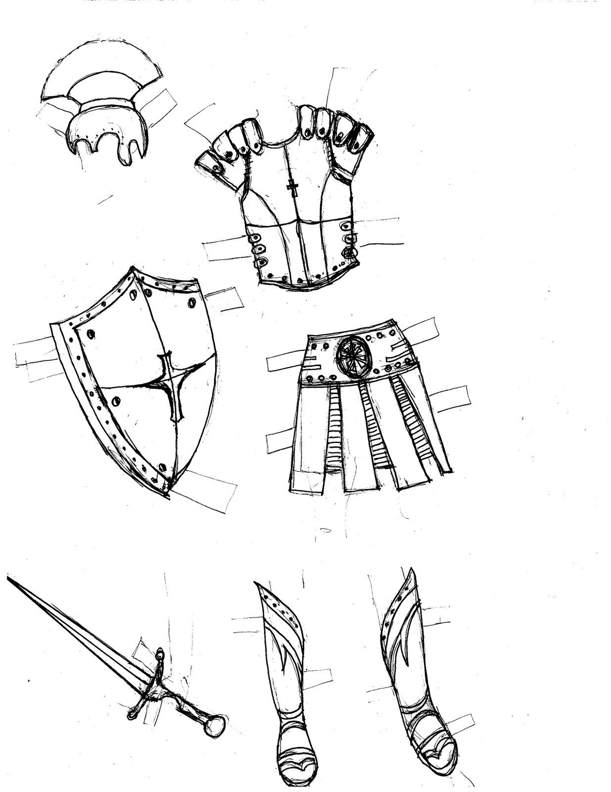 sunday school material: armour of god