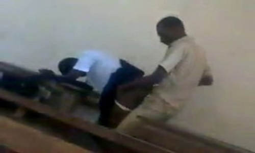 students caught having sex in class