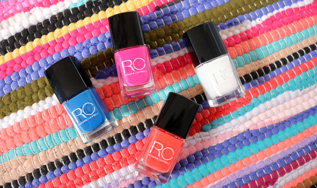 Roxanne Campbell Summer Collection 2017 Nail Lacquers - Review & Swatches