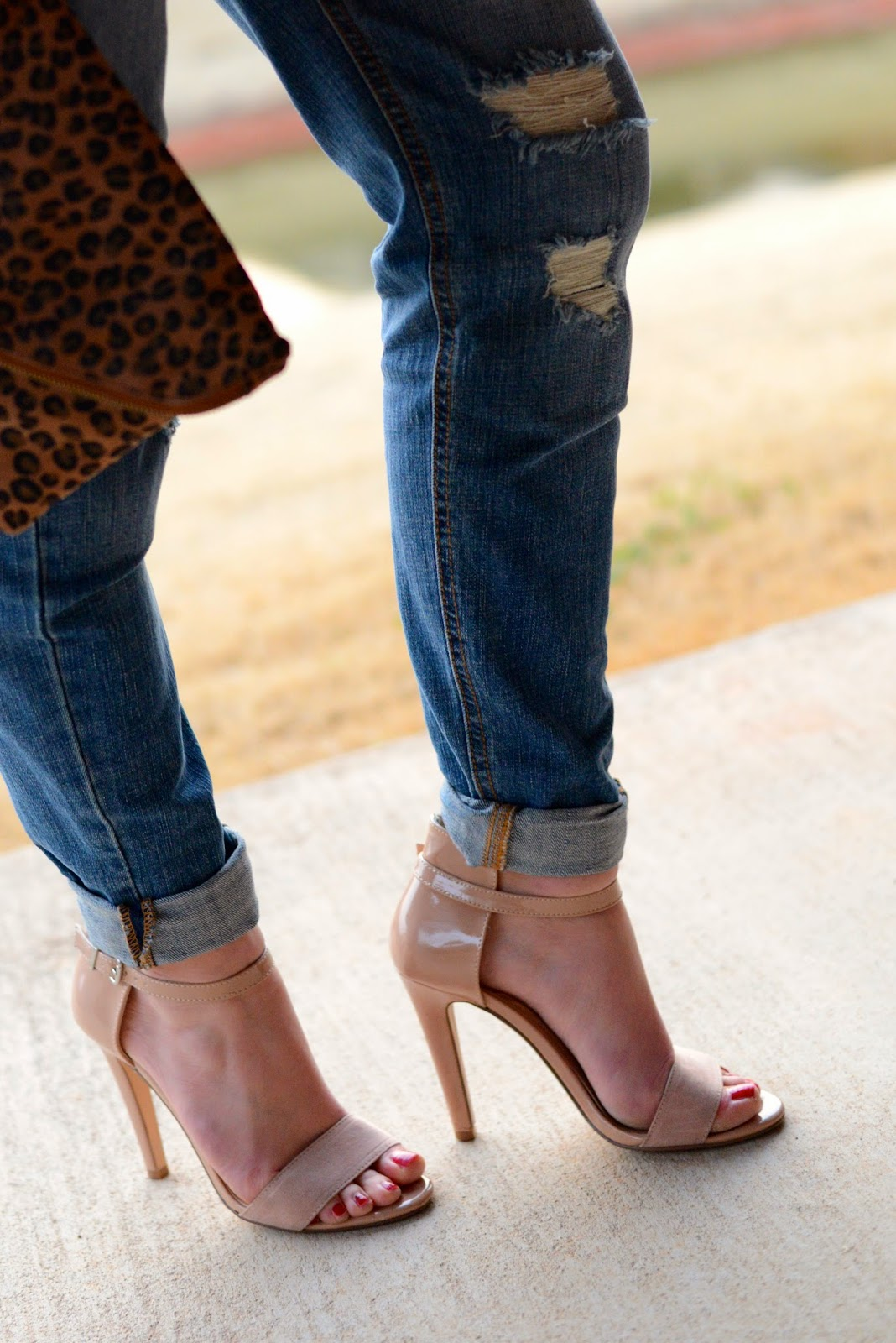 High Heels Amp High Notes Dressed Up Boyfriend Jeans