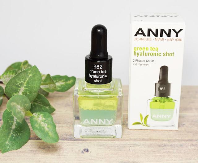 ANNY - Green Tea Hyaluronic Shot (2-Phasen-Nagelserum)