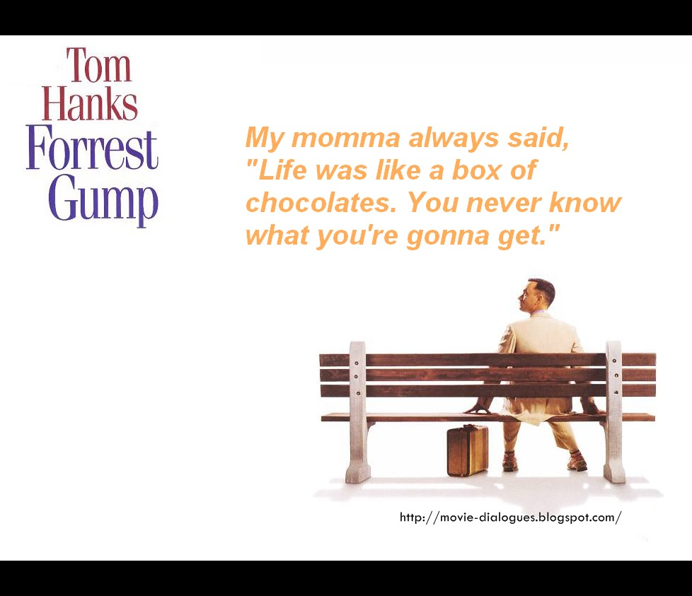 Movie Quotes And Dialogues: Forrest Gump Movie Quotes