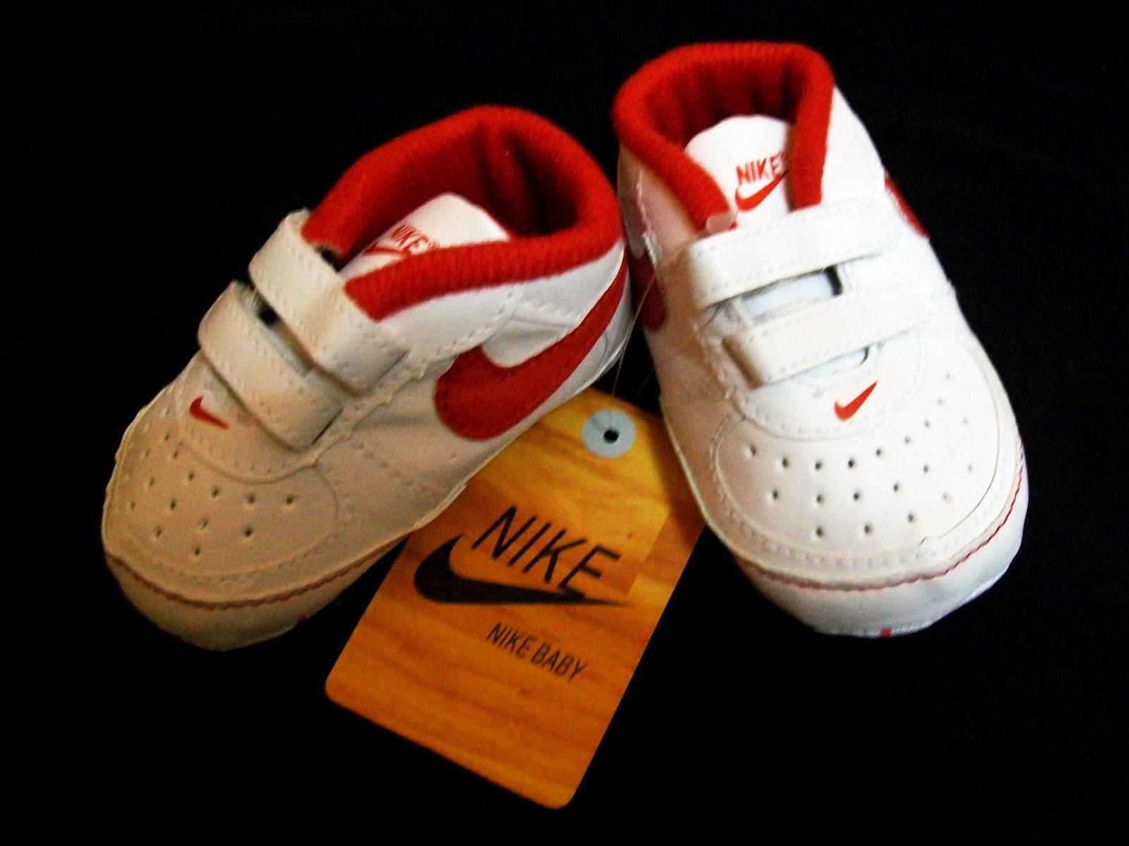 Baju Dan Kasut Baby Berjenama Nike Baby Shoes