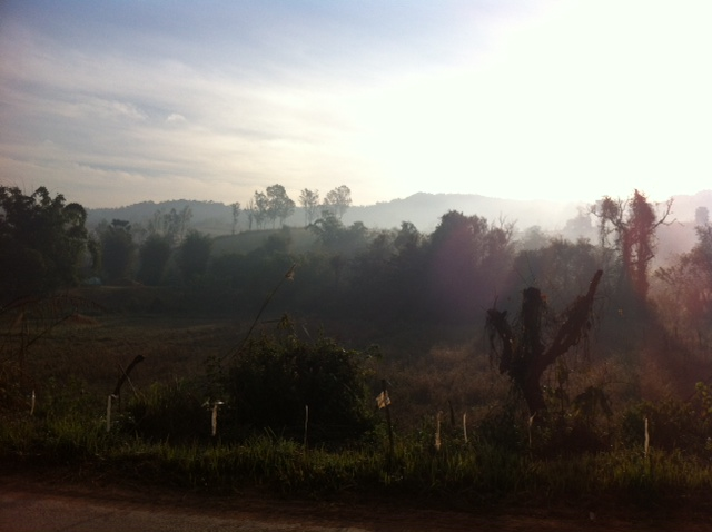 Sunrise in Loei - Thailand