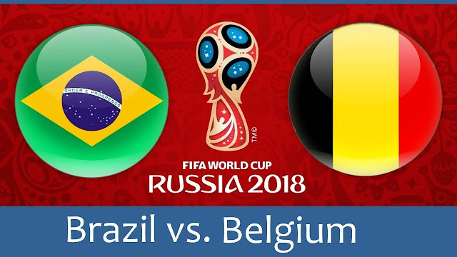 Brazil vs Belgium Full Match Replay 06 July 2018