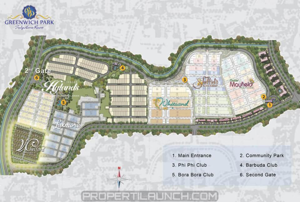 Master Plan Greenwich Park BSD