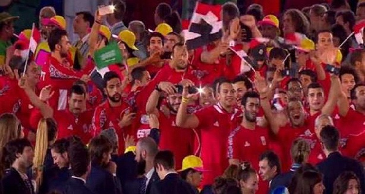 رئيس اللجنة الأولمبية يكشف سبب رفع العلم السعودي فى طابور العرض المصري