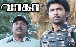 Wagah Tamil movie scenes | Vikram Prabhu decides to help Ranya cross border | Karunas