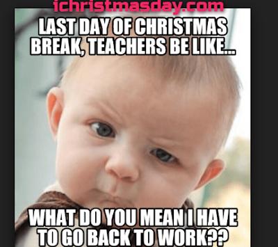 christmas memes for teachers