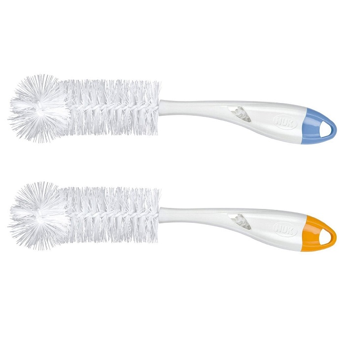 2 Pack Bottle Brush with Nipple Cleaner