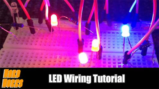 A Primer on LEDs - The What and the How Tutorial