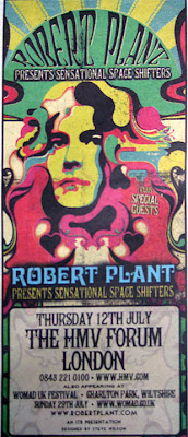 Robert Plant To Premier New Band The Sensational Space