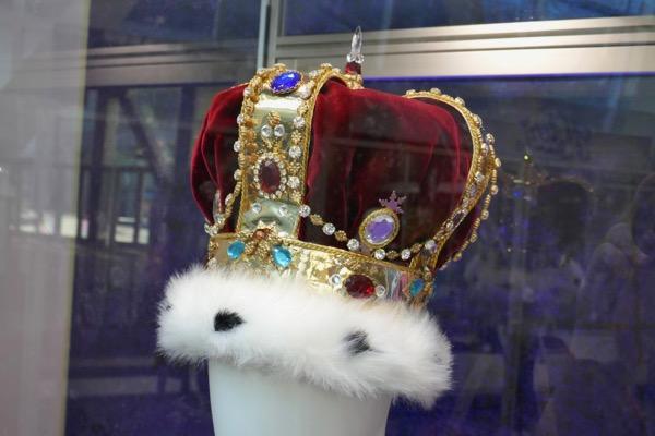 Bohemian Rhapsody Freddie Mercury costume crown