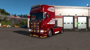 Scania RJL Red Yeax skin