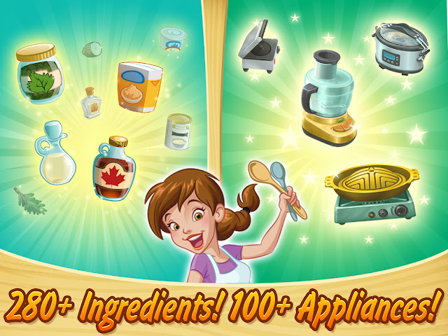 Kitchen Scramble: Cooking Game v6.2.3 MOD