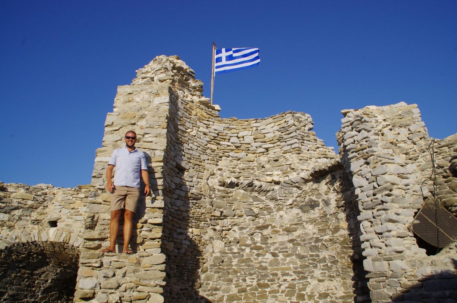 Naoussa Fortress Paros