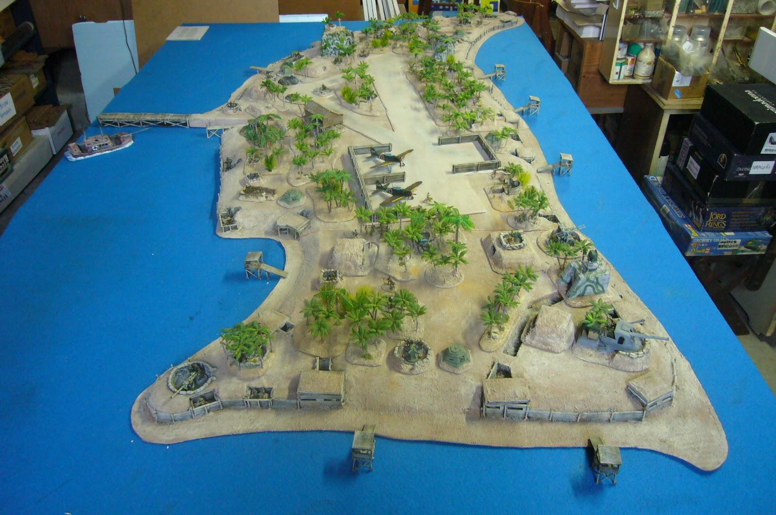 Jp Wargaming Place Rapid Fire Tarawa 1943 In 20mm