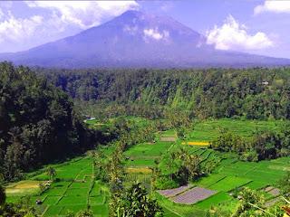 Inilah 10 Puncak Tertinggi Di Pulau Bali
