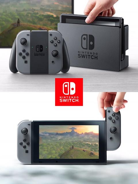 Após meses de especulação e rumores, a Nintendo anunciou nesta quinta-feira (20) o nome de seu novo console: Nintendo Switch