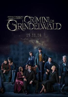 Animali fantastici 2 - I crimini di Grindelwald, il secondo capitolo dello spinoff sull'universo di Harry Potter.