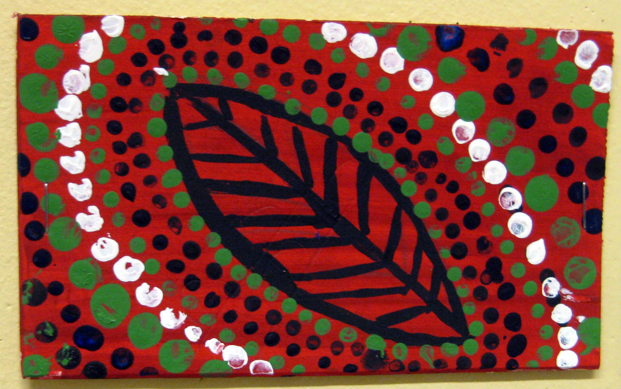 Mrs Art Teacher Australia Dot Style Mini Paintings