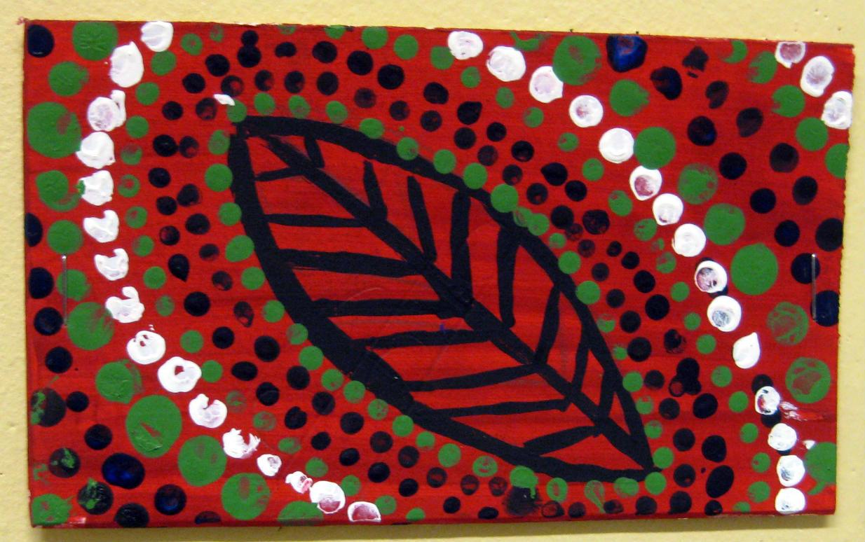 Mrs Art Teacher Australia Dot Style Mini Paintings