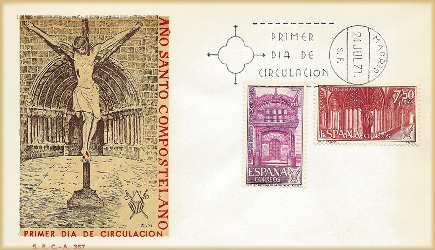 Sobre PDC sellos Santo Domingo de la Calzada Nájera