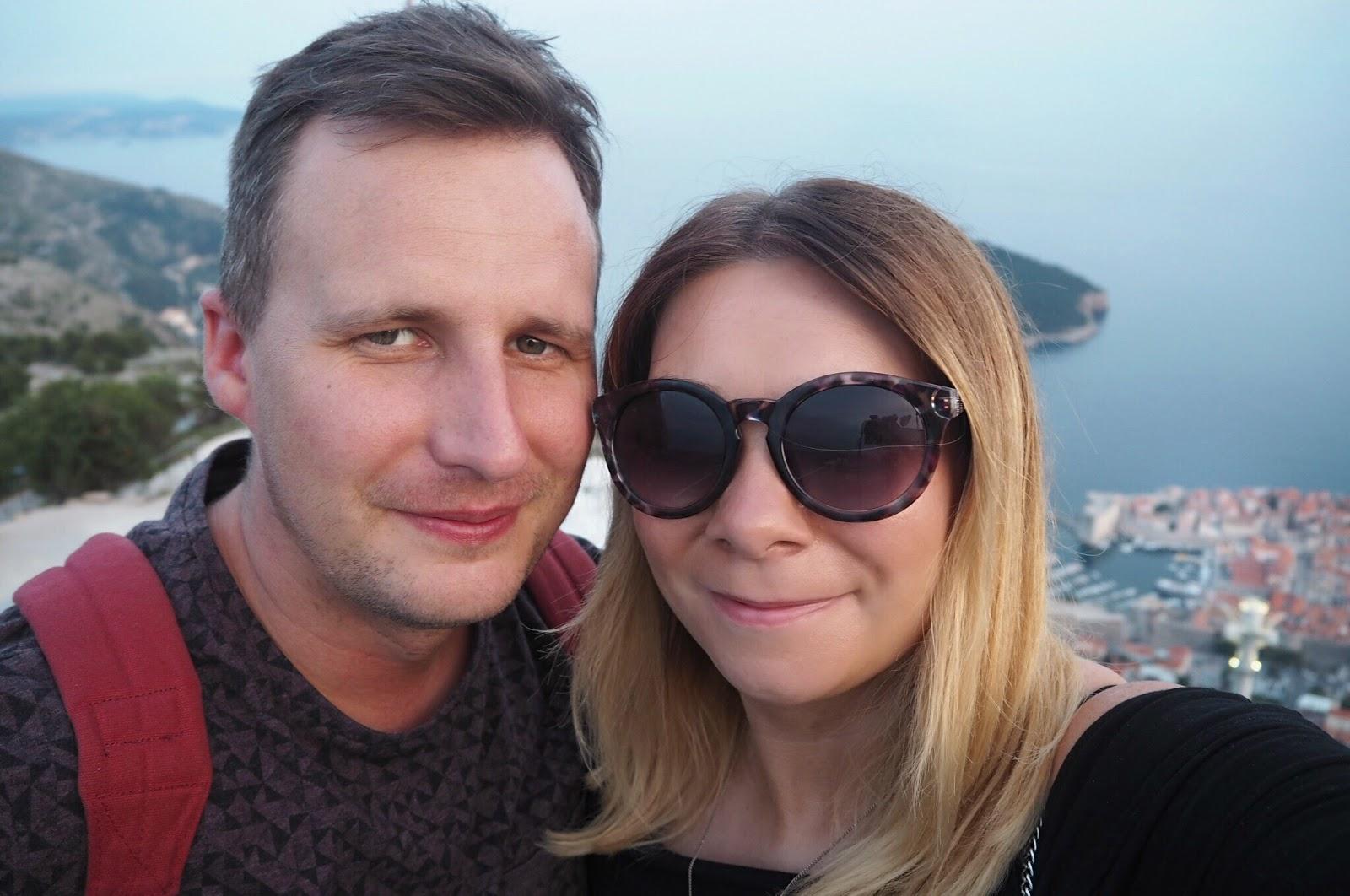 Jaz & Adam loving Dubrovnik Croatia