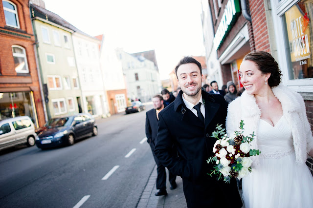 German-American Wedding in Lüneburg