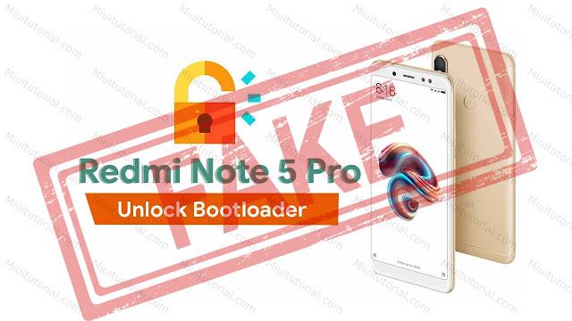 Xiaomi Redmi Note 5 PRO Kamu Terkena Penyakit Fake UBL? Coba Cara Fix Fake Unlock Bootloader Berikut ini!