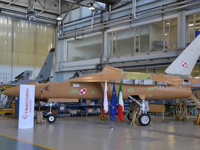 FINMECCANICA START THE FINAL ASSEMBLY OF POLISH M-346