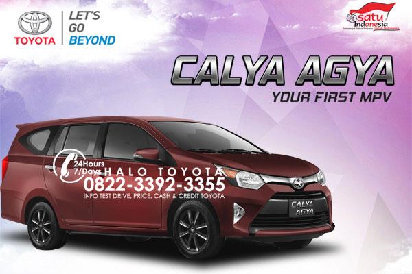 Spesifikasi Harga & Kredit Toyota Calya Agya Surabaya