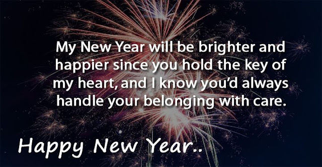 Happy New Year Love Quotes For Boyfriend