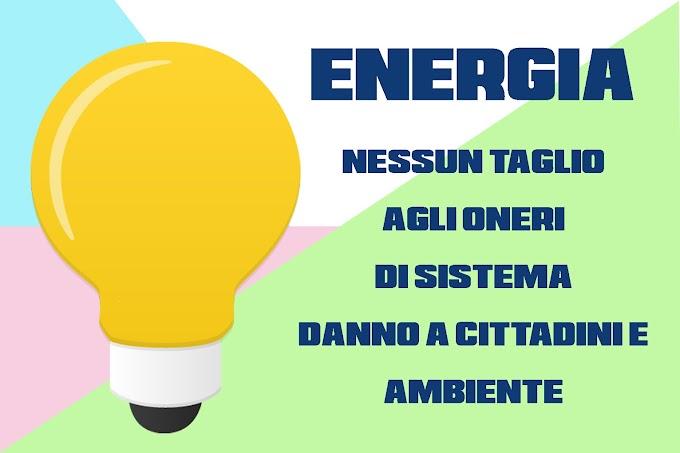 ENERGIA: NESSUN TAGLIO AGLI ONERI DI SISTEMA, MA VIA LIBERA AL SOSTEGNO DI ALITALIA