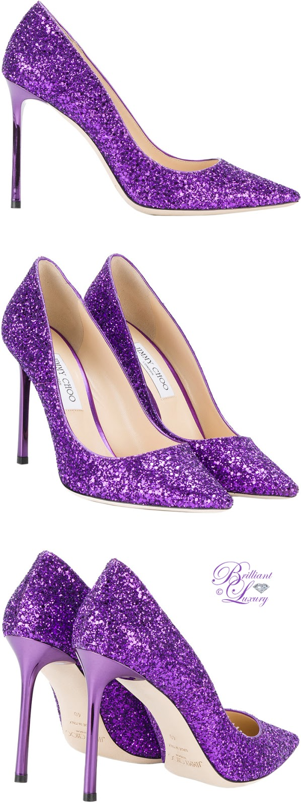 Brilliant Luxury ♦ Jimmy Choo Romy Pumps