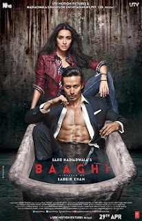Download Film Baaghi (2016) BRRip 720p Subtitle Indonesia