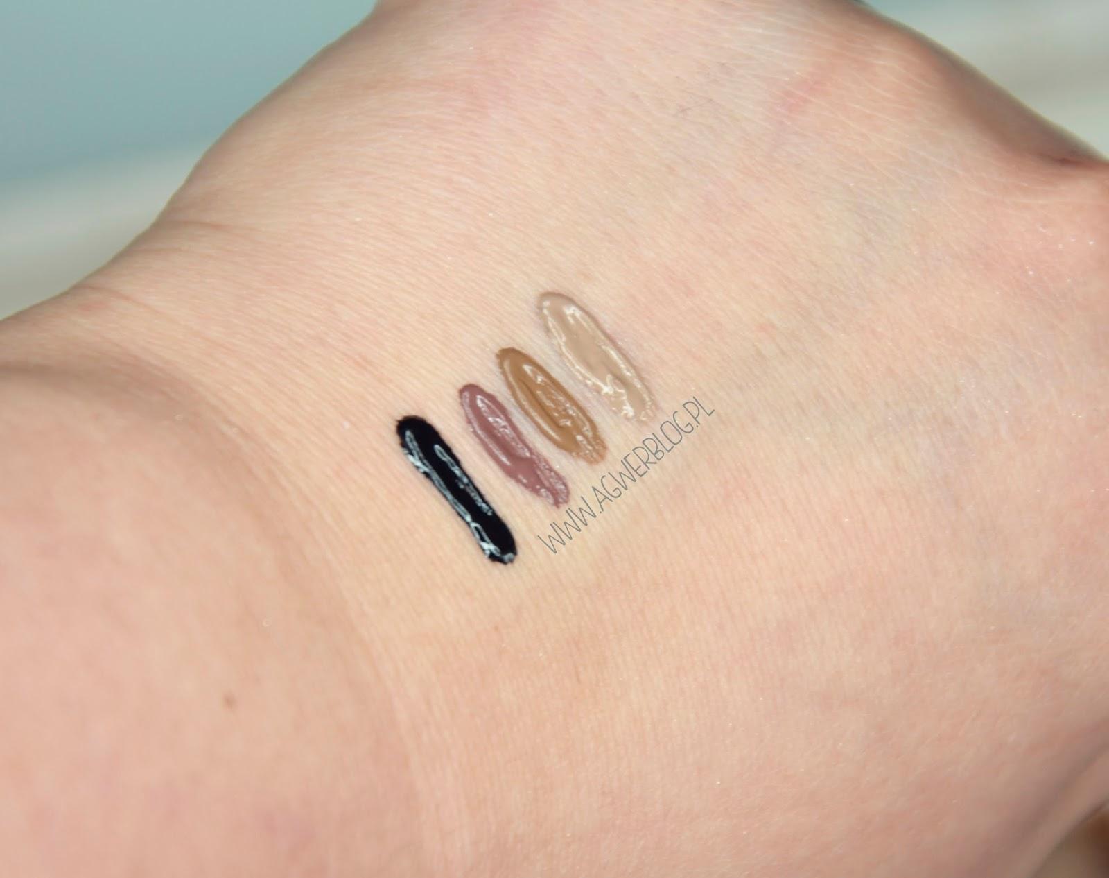 Farbki do brwi Makeup Revolution