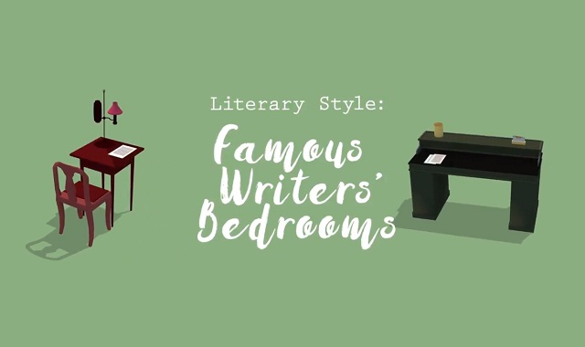 Literary Home Decor Ideas From 8 Famous Writers' Bedrooms #video