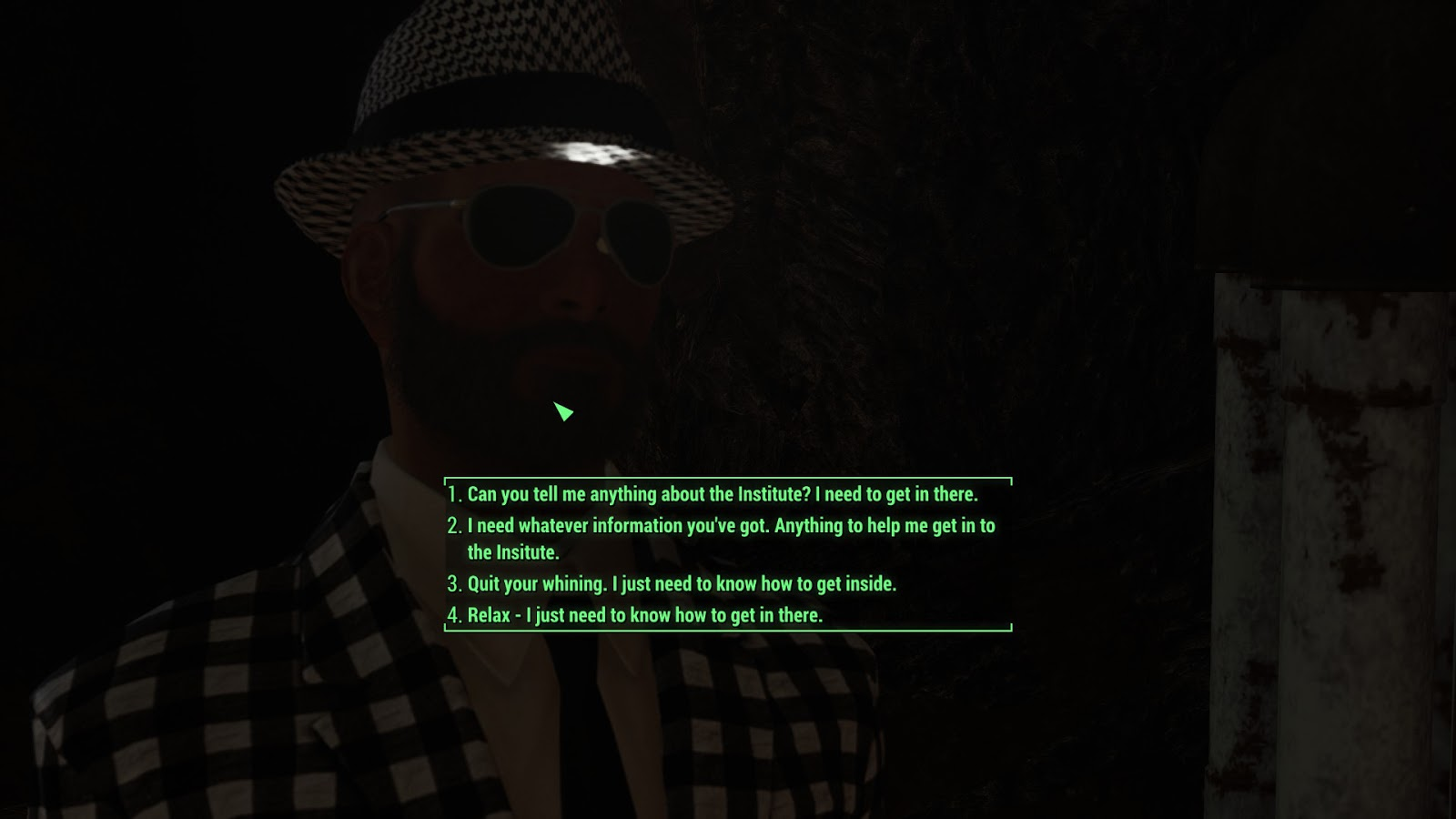The Nocturnal Rambler: Fallout 4: A Case of Simultaneously Being